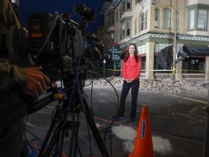 Monique Soltani Live Shot The Weather Channel