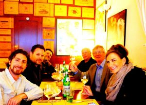 Tuscany Last Dinner Journalists