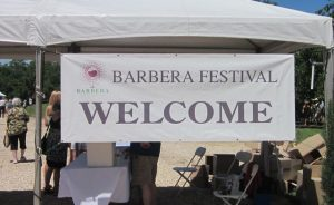 barberafestsign