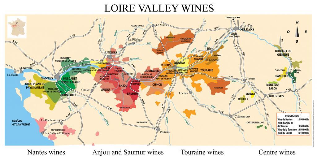 Loire Valley Wine Frances Royal Wine Region VIDEO  Wine Oh TV