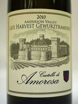 Castello Di Amorosa Dessert Wine Sweepstakes Winner