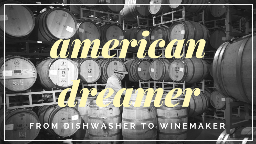 From Dishwasher to Napa Valley Winemaker: Mexican-American Immigrant Rolando Herrera has been living the American Dream for Two Decades.
