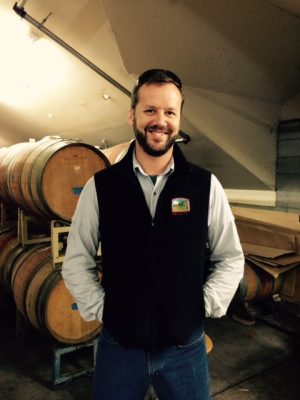 Winemaker Aaron Luna at Fenestra