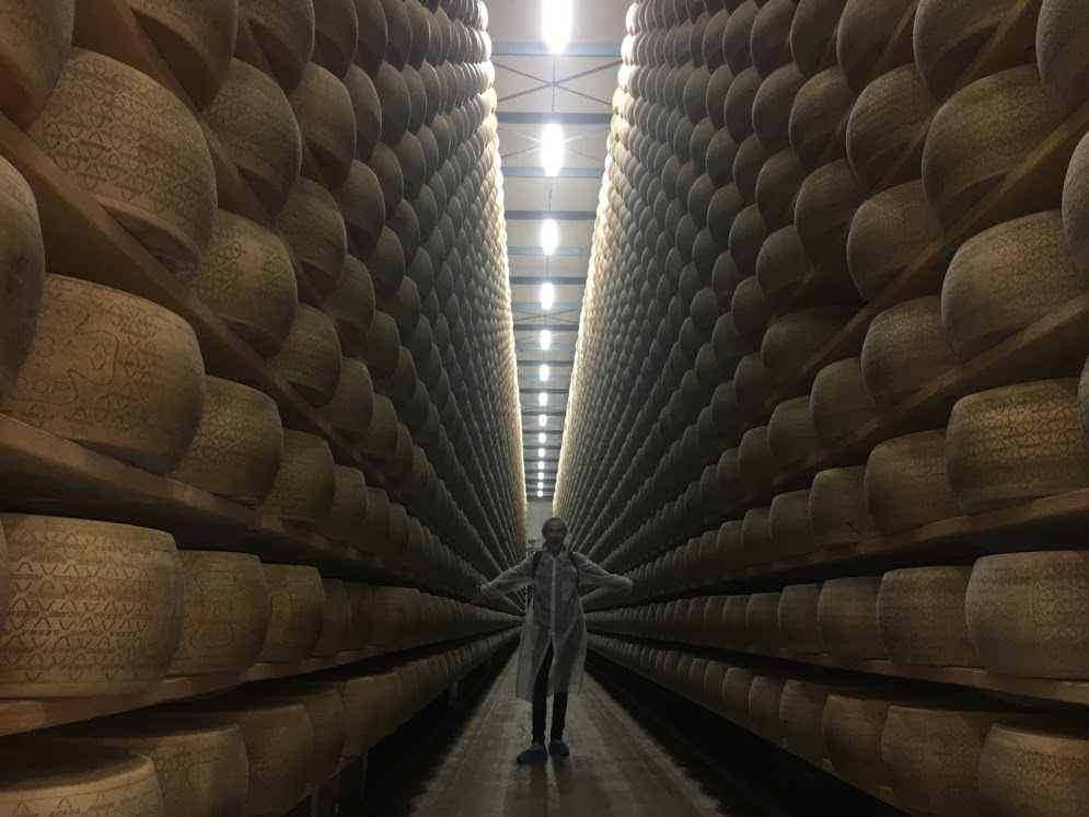 In this episode of Wine Oh TV, Monique Soltani heads back to Northern Italy and gets an inside look at how one of the oldest and most famous cheeses in the world is produced.