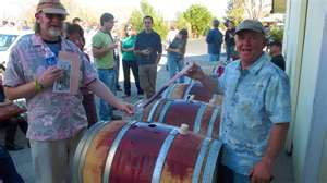 Wine Oh TV Barrel Tasting